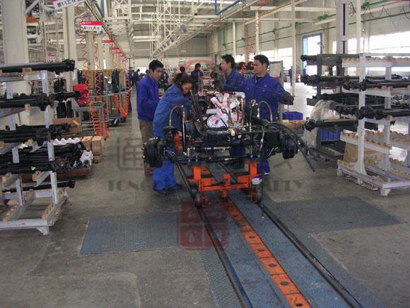 卡车装配线-电动汽车流水线-新能源汽车生产线
